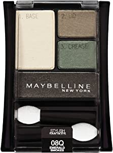 Maybelline Expert Wear Eyeshadow Quartet Emerald Smokes 08