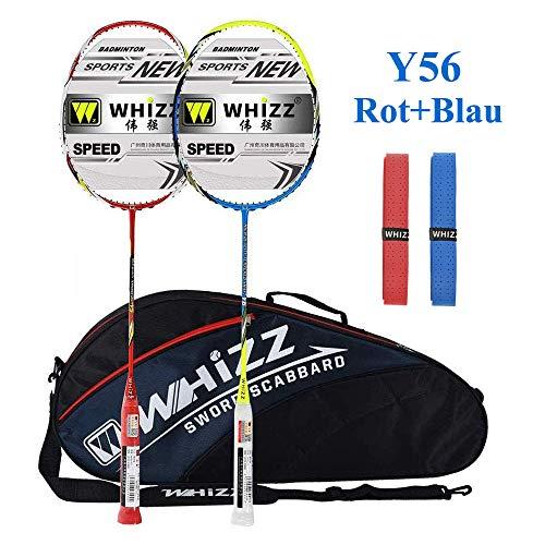 Whizz Badminton Schläger Set Rac...