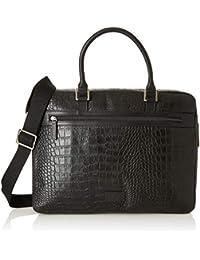Hidesign Men's Messenger Bag (Black)