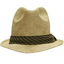 Guatemala de Verano Sombrero de Yute de whillas and Gunn, Unisex, Color Natural,