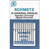 Euro-Notions, Aghi per Macchine da Cucire universali, Misura 70/80/90/100 10/Pkg, Multicolore
