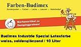 10 L Budimex Industrie Spezial Latexfarbe