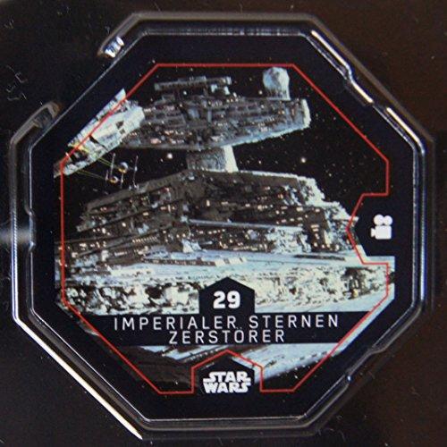 Rewe STAR WARS Cosmic Shells Auswahl aus allen 36 auch mit Glitzer oder Sammelalbum oder Filmbox (29 Imperialer Sternen-Zerstörer)