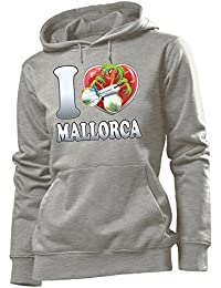 I Love Mallorca DamenHoodie Gr.S bis XL