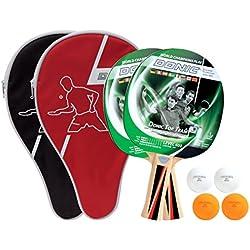 Donic-Schildkröt Raqueta de tenis de mesa Set Top Teams 40023pelotas 2fundas, 788471