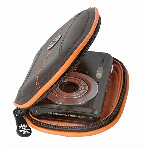 Borsa Fotografica Crumpler Royale Thingy 45, 10x 6x 2cm, dk red / white (Rosso) - 4036957104627 Marrone / arancione
