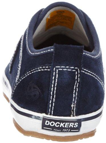 Dockers 342342-001300, Scarpe stringate unisex adulto Blu (Blu navy)