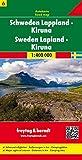 Schweden Blatt 6 Lappland / Kiruna 1 : 400 000 (freytag & berndt Auto + Freizeitkarten)