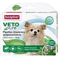 Beaphar VETOpure - Pipetas antiparásitas para perros