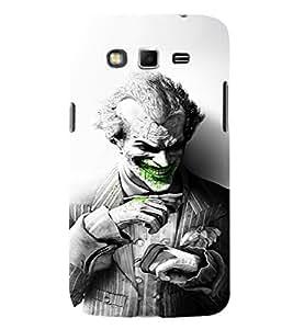 EPICCASE Joker Laugh BW Mobile Back Case Cover For Samsung Galaxy Grand Max (Designer Case)