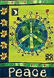 Geben Sie in Frieden Flagge 71,1x 101,6cm Inspirierende Vertikale House Banner