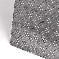 Chapa estriada de aluminio de 2,5/4,0 mm de grosor