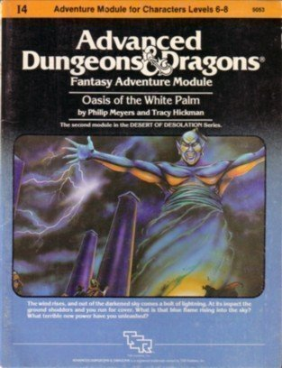 Advanced Dungeons and Dragons Module Oasis of the White Palm by Philip Meyers (1-Mar-1983) Paperback