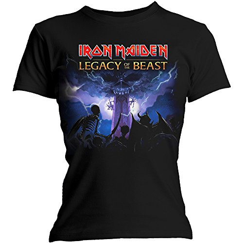 Iron Maiden Legacy Army Women's T-shirt Black Official Licensed Music