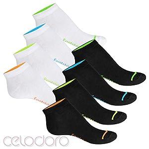 Footstar 8 Paar Sneaker Socken Neon Glow, Flash oder Classic Mix - für Damen und Herren