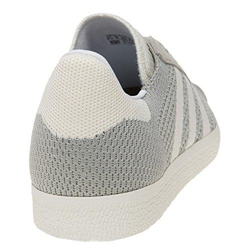 adidas Gazelle Primeknit, Scarpe da Ginnastica Basse Uomo, Blau Beige (Sesame/off White/trace Green)