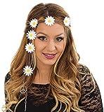 Enter-Deal-Berlin Stirnband - Hippie - mit Blumen & Peacesymbolen