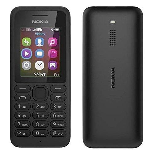 Nokia 130 dual SIM negro libre