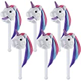 Learning Resources Rainbow Peoria Puppet-on-a-stick – Blanc (lot de 6)
