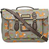 SwankySwans Womens Freddie Fox & Squirrel Top Handle Day Satchel