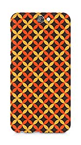 Amez designer printed 3d premium high quality back case cover for HTC One A9 (Cool Pattern15)