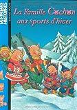Famille cochon aux sports d'hiver