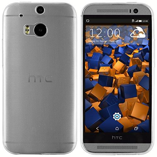 mumbi UltraSlim Hülle für HTC One M8 / M8s Schutzhülle transparent (Ultra Slim - 0.55 mm)