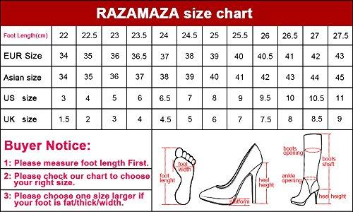 Indossando Tacchi Razamaza Single Beige Donne xXFq1vt