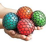 #9: Mesh Squishy Ball Squeeze Grape Ball Relieve Pressure Ball 2PCS