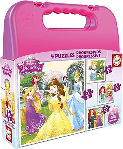 Puzzles Educa - Maleta con Puzzles progresivos, diseño...