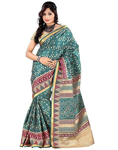 VINTAGE Girls cotton saree(VINTAGE O19_multi colour_Freesize)