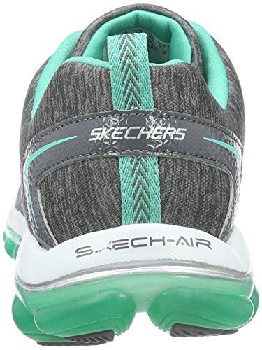 Skechers Skech-Air 2.0Sweet Life, Scarpe da Ginnastica Donna Grigio (Grau (CCGR))