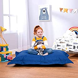 Bean Bag Bazaar Chaise Pouf Longue pour Enfants à 4 Positions de s'asseoir de Coussins Pouf pour Usage extérieur - Pouf pour Enfants imperméable à 100%