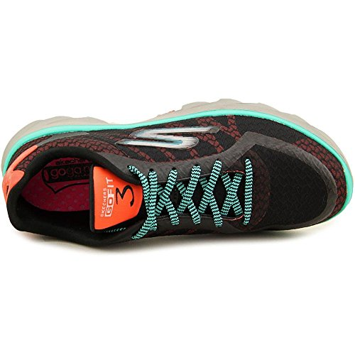 Skechers Performance Go Fit 3 Walking Shoe Black/Aqua