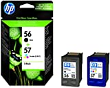 HP 56 Black/57 Tri-color 2-pack Original Ink Cartridges (SA342AE)