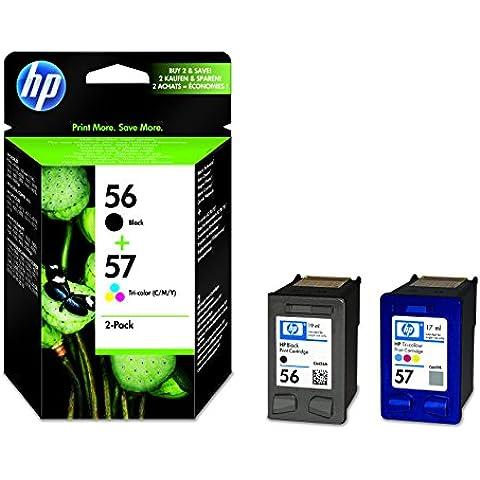 HP SA342AE - Pack de dos cartuchos de impresión por inyección (negro, amarillo, cian, magenta)