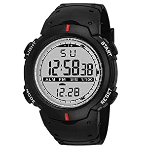 Knotyy Sports Watches for Men/Digital Watches for Men/Digital Watch for Boys/Sports Watches for Boys - (Black)