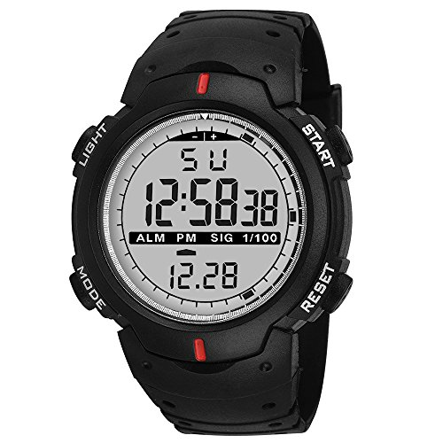 Knotyy Sports Watches for Men / Digital Watches for Men / Digital Watch for Boys / Sports Watches for Boys - (Black)