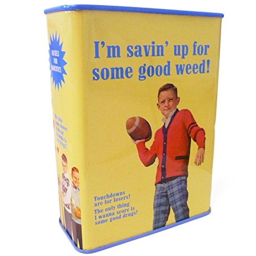 Saving Up For Some Good Weed Money Box Fathers Day Dad Man Father Present by Pro