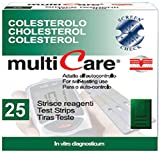 MULTICARE® STRISCE COLESTEROLO - 25 pz. + 1 chip