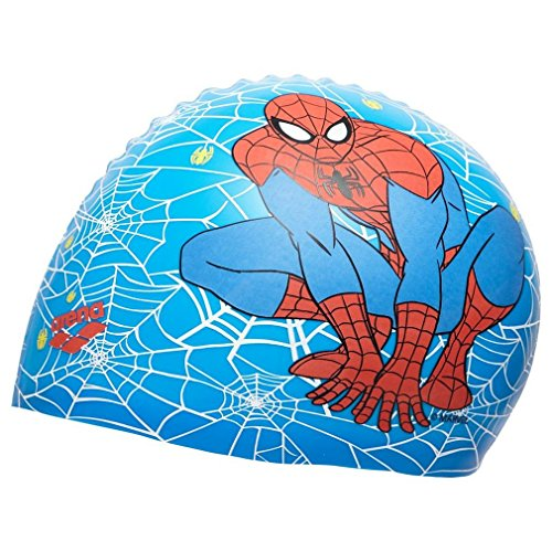 Arena cuffia dm sili cone jr 000271 spider man marvel one size