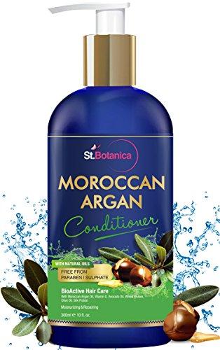 StBotanica Moroccan Argan Hair Conditioner with Argan & Olive Oil (No SLS / Paraben) 300ml