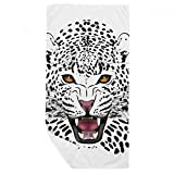 DIYthinker La Cabeza del Tigre Primer Plano Rey Animal Toalla de baño Suave paño de Facecloth 35X70Cm