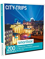 Smartbox - Geschenkbox - City Trips - 3* oder 4* Sterne Hotels in Städten und Metropolen…