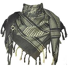 Explorar Land 100% algodón Militar Táctica Shemagh desierto Kufiyya bufanda Wrap
