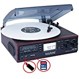 Best Receiver For Turntable - Boytone BT-19DJM-C, 3-speed Stereo Turntable - 33/45/78 RPM Review