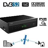 Crypto ReDi S100P Récepteur satellite DVB S2 pour transmetteurs publics (PVR-Ready, DVBS2, Full HD,...