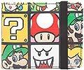 Super Mario - Portefeuille personnages Luigi Yoshi Peach Nintendo - 11x9x2cm