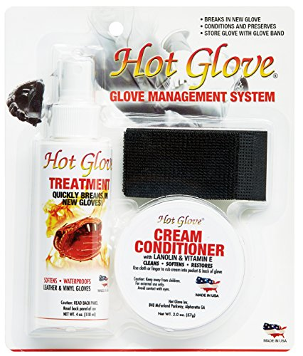 Unique Sports Baseball Softball Hot Glove Conditioner Break In Management System Test
