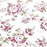 Dekoratives Blumenmuster Kontakt Papier Vinyl Folie selbstklebend Schubladen Regal rutschsicher abnehmbar Abziehen und Aufkleben Tapete für Regale Schublade Wandschmuck 45x 297,2cm